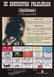 III Encuentro Folclorico